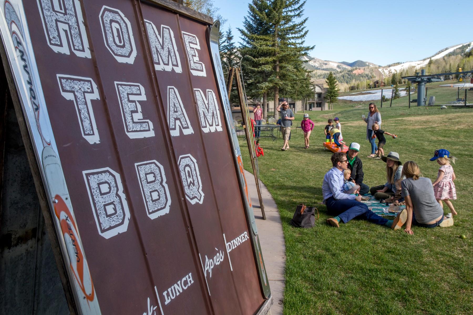 Aspen Home Team BBQHome Team BBQ